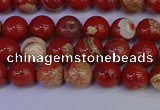 CRE301 15.5 inches 6mm round red jasper beads wholesale