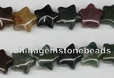 CRG03 15.5 inches 12*12mm star Indian agate gemstone beads wholesale