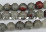 CRO190 15.5 inches 10mm round bloodstone beads wholesale
