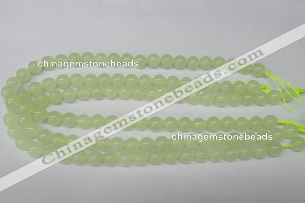 CRO205 15.5 inches 10mm round New jade beads wholesale