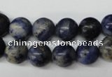 CRO231 15.5 inches 10mm round sodalite gemstone beads wholesale