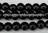 CRO247 15.5 inches 10mm round blackstone beads wholesale