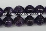 CRO337 15.5 inches 12mm round dogtooth amethyst beads wholesale