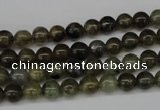 CRO37 15.5 inches 6mm round labradorite gemstone beads wholesale