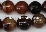 CRO436 15.5 inches 16mm round agate gemstone beads wholesale