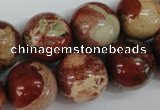 CRO449 15.5 inches 16mm round rainrow stone beads wholesale