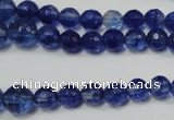 CRO748 15.5 inches 6mm – 14mm faceted round watermelon blue beads