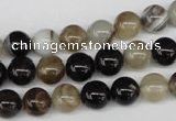 CRO85 15.5 inches 8mm round agate gemstone beads wholesale