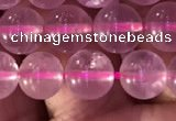 CRQ471 15.5 inches 8mm round rose quartz gemstone beads
