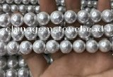 CSB2113 15.5 inches 14mm ball shell pearl beads wholesale