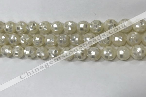 CSB4000 15.5 inches 8mm ball abalone shell beads wholesale