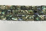 CSB4148 15.5 inches 18*18mm square abalone shell beads wholesale