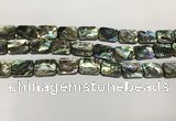 CSB4154 15.5 inches 12*16mm rectangle abalone shell beads wholesale