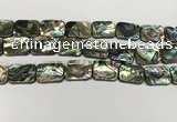CSB4156 15.5 inches 15*20mm rectangle abalone shell beads wholesale