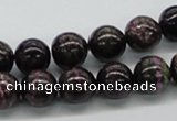 CSG51 15.5 inches 10mm round long spar gemstone beads wholesale