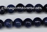 CSO402 15.5 inches 8mm round dyed sodalite gemstone beads