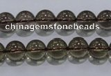 CSQ102 15.5 inches 10mm round grade AA natural smoky quartz beads