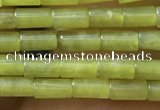 CTB814 15.5 inches 2*4mm tube korean jade beads wholesale