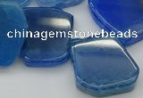 CTD341 Top drilled 15*20mm - 25*30mm freeform agate beads