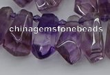 CTD3621 Top drilled 9*18mm - 16*30mm faceted nuggets ametrine beads