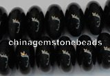 CTE1182 15.5 inches 10*18mm rondelle blue tiger eye beads