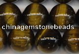 CTE1215 15.5 inches 16mm round AB grade yellow tiger eye beads