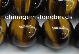 CTE1247 15.5 inches 16mm round AA grade yellow tiger eye beads