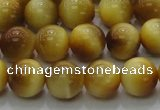 CTE1402 15.5 inches 8mm round golden tiger eye beads wholesale