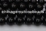 CTE1611 15.5 inches 6mm round A grade black tiger eye beads