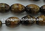 CTE1702 15.5 inches 13*18mm rice yellow tiger eye beads