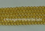 CTG116 15.5 inches 2mm round tiny citrine gemstone beads wholesale