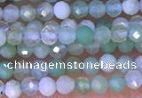 CTG1311 15.5 inches 2mm faceted round Australia chrysoprase beads
