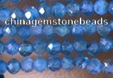 CTG1417 15.5 inches 2mm faceted round apatite beads wholesale