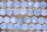 CTG1441 15.5 inches 2mm faceted round aquamarine beads wholesale
