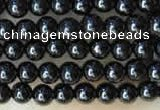 CTG2030 15 inches 2mm,3mm natural black spinel beads