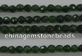 CTG417 15.5 inches 2mm faceted round tiny dyed candy jade beads