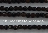 CTG426 15.5 inches 2mm faceted round tiny agate gemstone beads