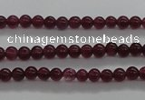 CTG434 15.5 inches 2mm round tiny dyed candy jade beads wholesale