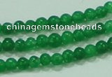 CTG61 15.5 inches 2mm round tiny dyed white jade beads wholesale