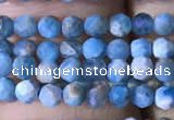 CTG759 15.5 inches 2mm faceted round tiny apatite gemstone beads