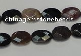 CTO36 15.5 inches 10*14mm faceted oval natural tourmaline beads