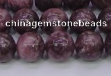 CTO605 15.5 inches 14mm round Chinese tourmaline beads wholesale