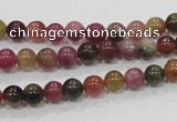 CTO62 15.5 inches 6mm round natural tourmaline gemstone beads