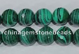 CTU1825 15.5 inches 12mm faceted round synthetic turquoise beads