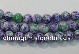 CTU2151 15.5 inches 6mm round synthetic turquoise beads