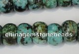 CTU2471 15.5 inches 10*14mm rondelle African turquoise beads wholesale