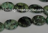 CTU2475 15.5 inches 12*16mm oval African turquoise beads wholesale