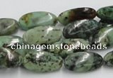 CTU414 15.5 inches 10*18mm oval African turquoise beads wholesale