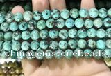 CTU572 15.5 inches 8mm round african turquoise beads wholesale