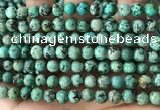 CTU581 15.5 inches 6mm round natural african turquoise beads